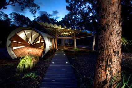 Pour un week-end aux sensations de camping de luxe decodesign / Décoration   le cottage landais: en osmose avec la nature   Scoop.it