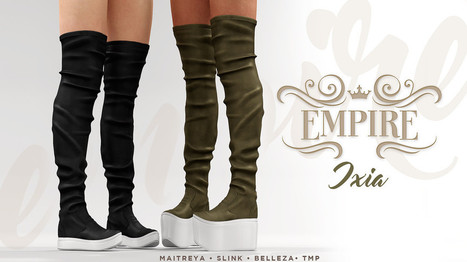 EMPIRE - Vendor - Ixia   亗  Second Life Fashion Addict  亗   Scoop.it