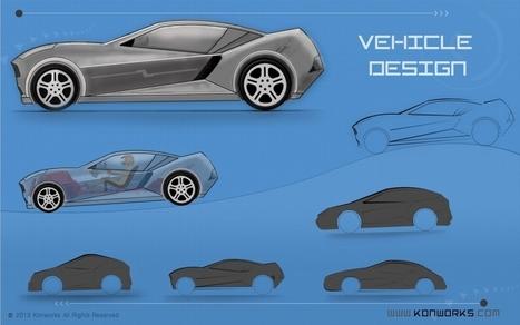Vehicle Design in 3D | 3D Animation | Scoop.it