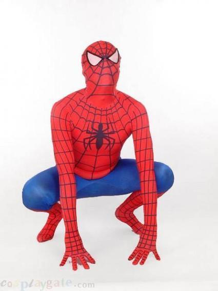 Red And Blue Spiderman Lycra Spandex Leotard Zentai Suits free shipping - wholesale Lycra Spandex Zentai Suits - wholesale Catsuits & Zentai - CosplayGate.Com | spiderman costume,spiderman costumes | Scoop.it