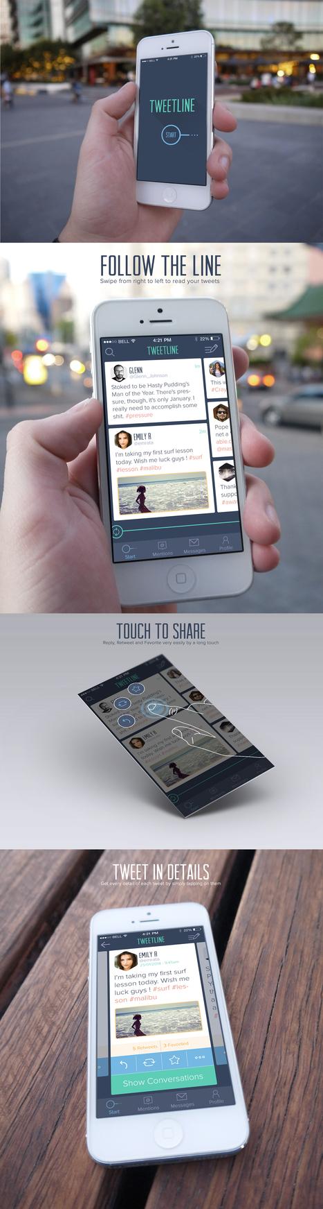 Concept App Twitter | Benchmark Mobile User Interface | Scoop.it