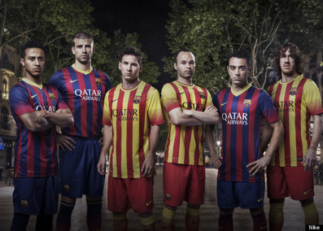 Barcelona's New Nike Kit Sees Stripes Return | AngloCatalan Affairs | Scoop.it