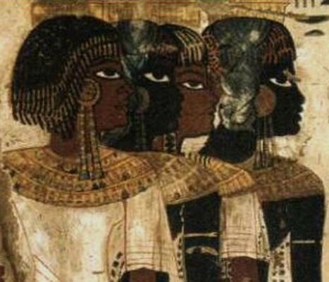 Nubian Isis: Isis was known throughout Nubia as The Great Lady of Nubia. | Samanello Gazette | Scoop.it