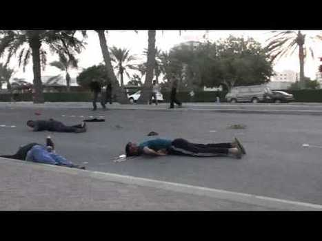 Bahrain's army deliberately kills peaceful protesters with live rounds ( automatic weapon ) | Happiness &  Wellbeing | Scoop.it