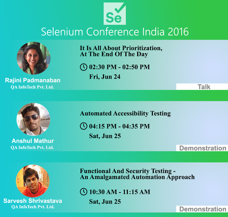 Selenium Conference India 2016   Cloud Testing Experts   Scoop.it