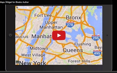 Free Google Map widget for iBooks Author | Publishing with iBooks Author | Scoop.it