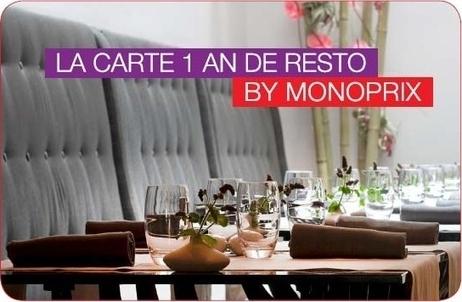 Monoprix offre le restaurant à ses clients | We love Marketing | Scoop.it