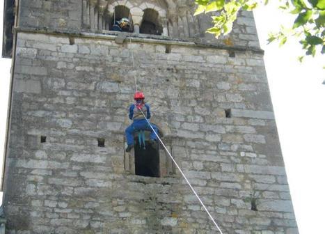 Les pompiers s'entraînent à Sarrancolin | Vallée d'Aure - Pyrénées | Scoop.it