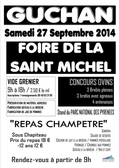 Foire Saint-Michel à Guchan le 27 septembre | Vallée d'Aure - Pyrénées | Scoop.it