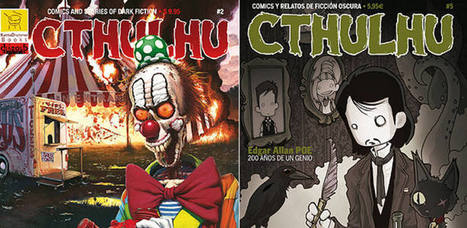 'Cthulhu', una revista española de cómics de terror que triunfa en ... - RTVE   MulderComicReport   Scoop.it