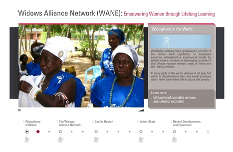 Widows Alliance Network (WANE) / Web Documentary | WISE - World Innovation Summit for Education | Interactive & Immersive Journalism | Scoop.it