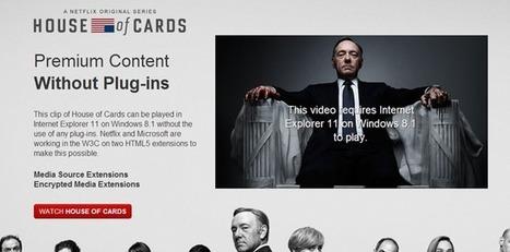 Les DRM en HTML5 testés par Netflix avec Microsoft | Libertés Numériques | Scoop.it