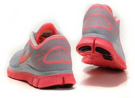 UK Running Shoes Nike Free Run 3 Womens Grey Pink | nike free pink | Scoop.it
