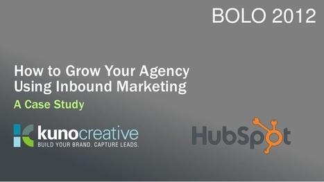 How to Market Your Marketing Agency | Online Marketing Resources | Scoop.it
