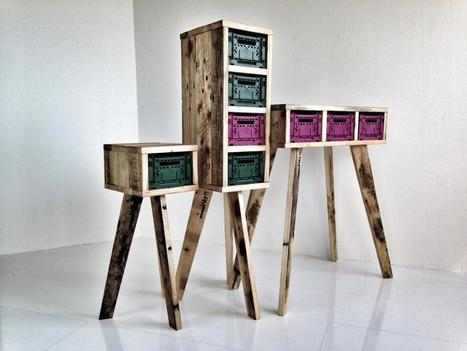 90 Ideas For Making Beautiful Furniture From Upcycled Pallets | Upcycled Objects | Scoop.it