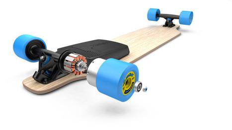 Mellow : transformez votre skateboard en skateboard électrique | Ressources pour la Technologie au College | Scoop.it