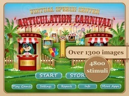 Articulation Carnival | Speech and Language Therapy Apps | Scoop.it