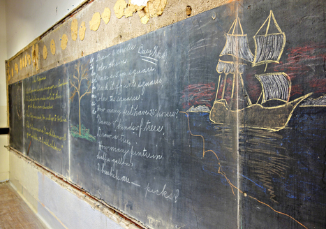 Century-Old School Chalkboard Drawings Offer a History Lesson | Daring Fun & Pop Culture Goodness | Scoop.it