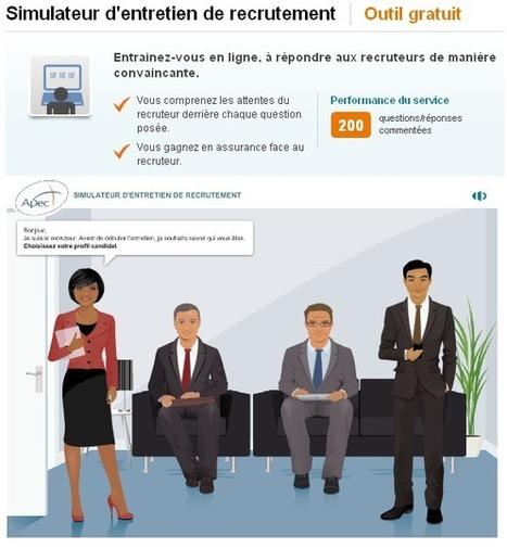 freeware licence logiciel gratuit: Service professionnel gratuit en ligne Simulateur d'entretien de recrutement APEC 2014   e-learning   Scoop.it