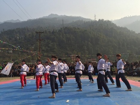 WTF Taekwondo Humanitarian Foundation pilot project launched with ceremony in Nepal | The Scoreline Diminishes | Scoop.it