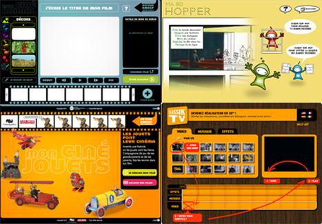 4 Activités ludiques en ligne, cinéma, BD, histoire…     Numérique à l'école   Scoop.it