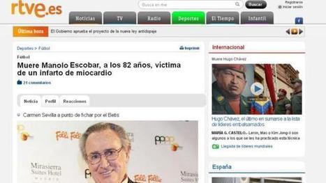 Twitter vuelve a ´matar´ a Manolo Escobar - Gaceta de Salamanca | sociedad | Scoop.it