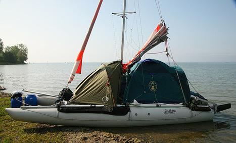 Catamaran gonflable à voile Ducky 19 : un bateau taillé pour la régate et les expéditions.   All Boats Avenue   Nautisme et Plaisance   Scoop.it