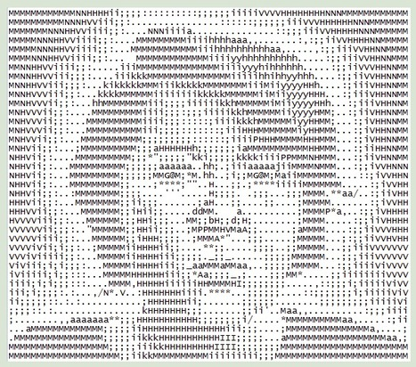 todellisus on DeviantArt | ASCII Art | Scoop.it