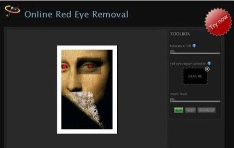 FixRedEyes elimina el efecto ojos rojos de tus fotografías | Las TIC y la Educación | Scoop.it
