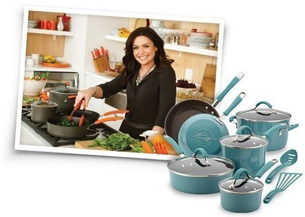 Rachael Ray Hard Enamel Nonstick 3-Quart Covered Steamer Set, Orange Gradient - Kitchen Things | Kitchen Stuff | Scoop.it