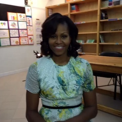 """Scholastic Kids Press Corps asked, """"What does Mrs. Obama hope her children learn from her Africa trip."""" The First Lady answered.   Connect All Schools   Scoop.it"""