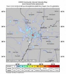 Missouri 4.0 Earthquake | Disaster Emergency Survival Readiness | Scoop.it