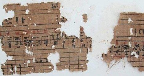 Hallan en Egipto un puerto histórico con los papiros más antiguos ... | Egiptología | Scoop.it