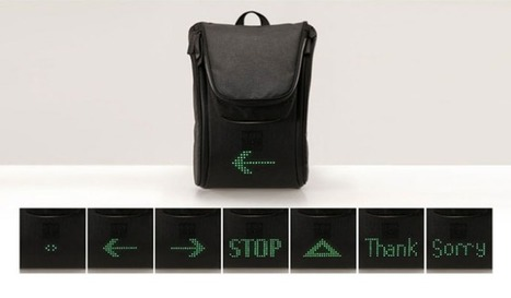 Seil Bag, una mochila LED pensada para ciclistas en Latam Review | Sports & News Review | Scoop.it