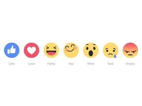 Facebook to Launch Reactions 'In the Next Few Weeks' | Surviving Social Chaos | Scoop.it