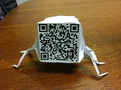 QR origami | Socialart | Scoop.it