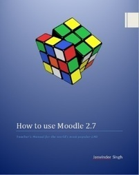 Free Book: How to Use Moodle 2.7 (360+ pages of Moodle) | Moodle and Mahara | Scoop.it