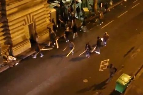 Massive migrant brawl explodes near metro station... | Policing news | Scoop.it