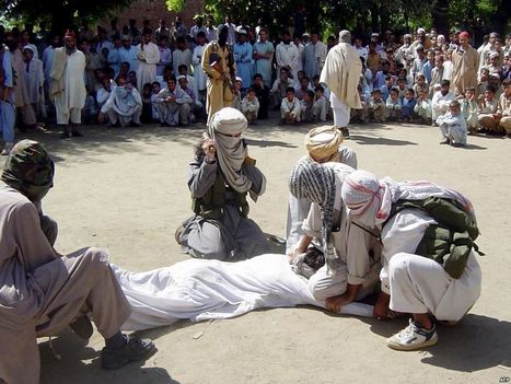 Woman Being Beaten for Wrongful Crime | Afghanistan | Scoop.it