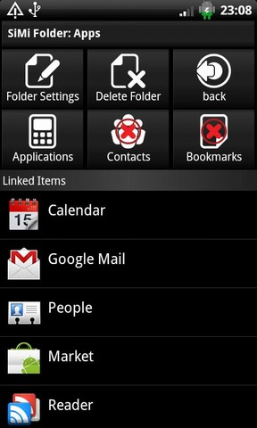 SiMi Folder Widget Android App | Application Android | Scoop.it