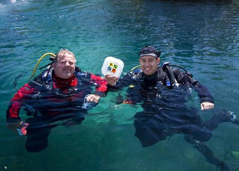 Anybody doing DiveCaching? #scuba #scubadiving #diving | Plongée sous-marine Beuchat | Scoop.it