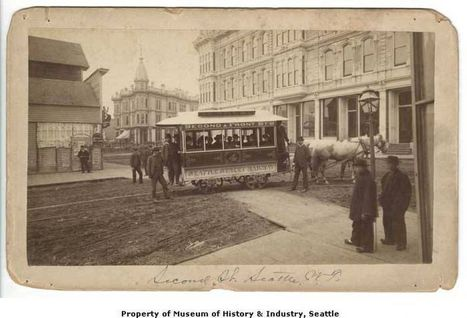Looking back on Seattle's streetcar history | History in Pictures | Scoop.it