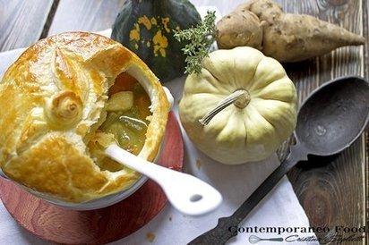 Pie vegetariana con zucca e patate dolci   Alimentazione Naturale, EcoRicette Veg e Vegan   Scoop.it