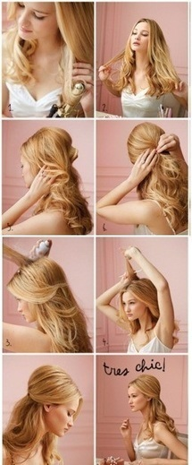 Working hair styles for long hair Long Hairstyles Celebrity Hairstyles | Hair There and Everywhere | Scoop.it