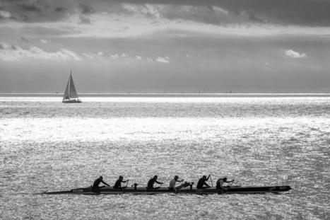 Bretagne - Finistère :  euh... est-ce un lagon entre Bénodet et les Glénan ? (5 photos) | photo en Bretagne - Finistère | Scoop.it