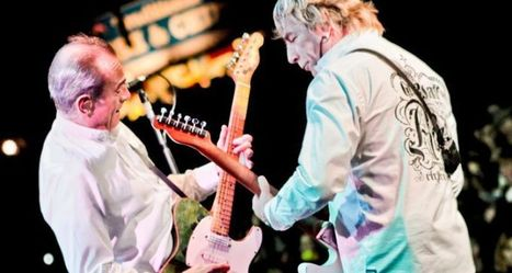 Status Quo Concert at Cholmondeley Pageant of Power, Cheshire | CPOP | motorsport noise | Scoop.it