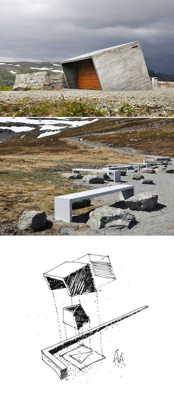 Toilettes en Norvège par Lars J Burge | Rendons visibles l'architecture et les architectes | Scoop.it