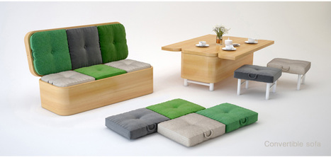 Convertible Sofa by Julia Kononenko | Artec | Scoop.it