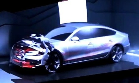 Watch this Audi transform into a moving picture show   The DATZ Blast   Scoop.it