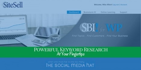 Powerful Keyword Research At Your Fingertips - An SBI! for WP Review | The Content Marketing Hat | Scoop.it